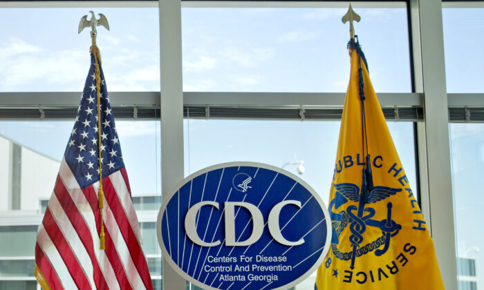 A Centers for Disease Control and Prevention logo at the agency's federal headquarters in Atlanta, Ga., on Nov. 19, 2013. (David Goldman/AP Photo)