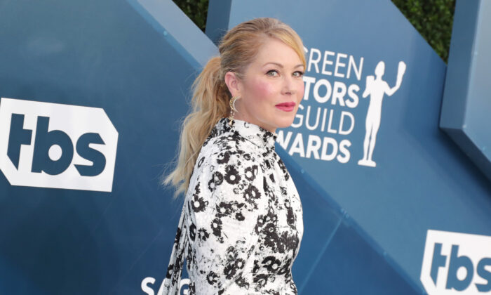 Christina Applegate attends the 26th Annual Screen Actors Guild Awards at The Shrine Auditorium in Los Angeles, Calif., on Jan. 19, 2020. (Leon Bennett/Getty Images)
