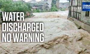 Flooding Strikes Southwestern China