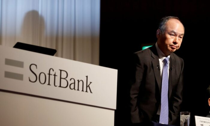 Japan's SoftBank Group Corp Chief Executive Masayoshi Son attends a news conference in Tokyo, Japan, on Nov. 5, 2018. (Kim Kyung-Hoon/Reuters)