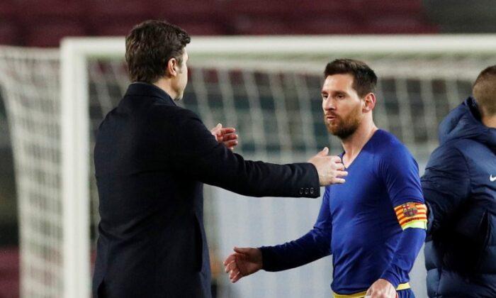 FILE PHOTO: Champions League - Round of 16 First Leg - FC Barcelona v Paris St Germain
