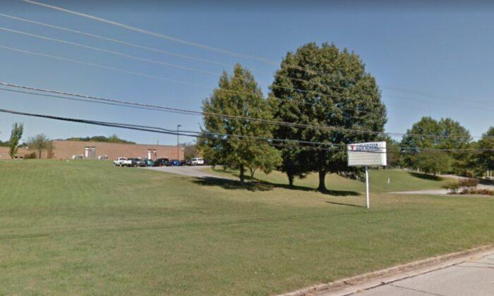 The Volunteer High School in Church Hill, Tenn., in September 2012. (Google Maps/Screenshot via NTD)