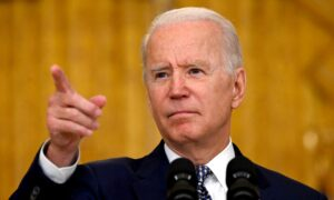 Biden: No Regrets on Withdrawing From Afghanistan as Taliban Advances