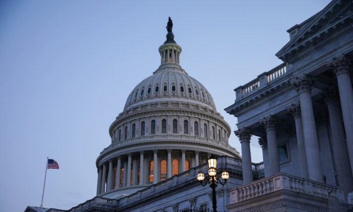 The U.S. Capitol in Washington on Aug. 8, 2021. (Reuters/Sarah Silbiger)