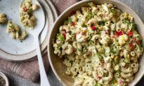 A Picnic-Perfect Mash-Up: Deviled-Egg Pasta Salad