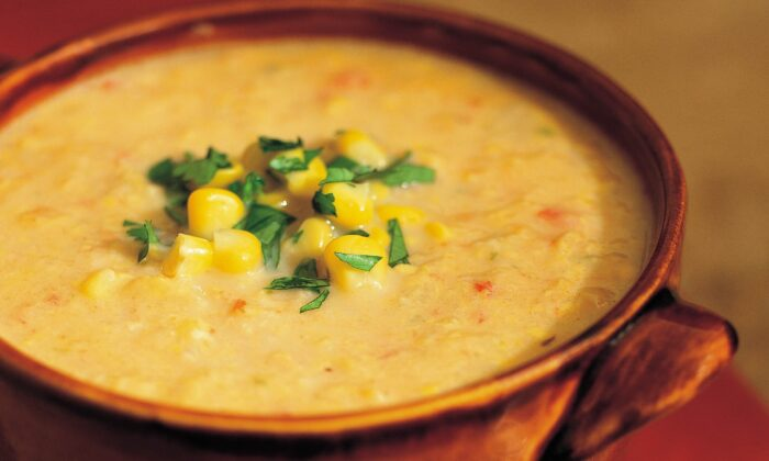 Some of the soup is pureed to give it a thicker texture. Credit:  FILENAME: (Maren Caruso/TNS)