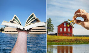 Illusionistic Photographer Plays With Perspective to Create Surreal Images That Trick the Eye
