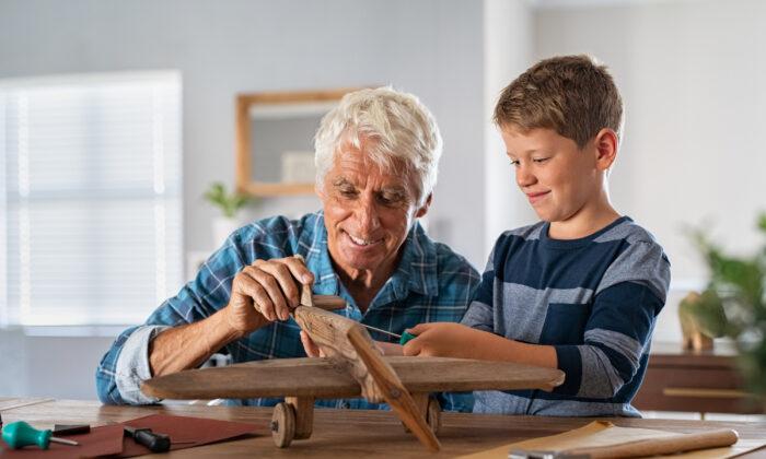 """Nobody can do for little children what grandparents do,"" writer Alex Haley said. (Rido/Shutterstock)"