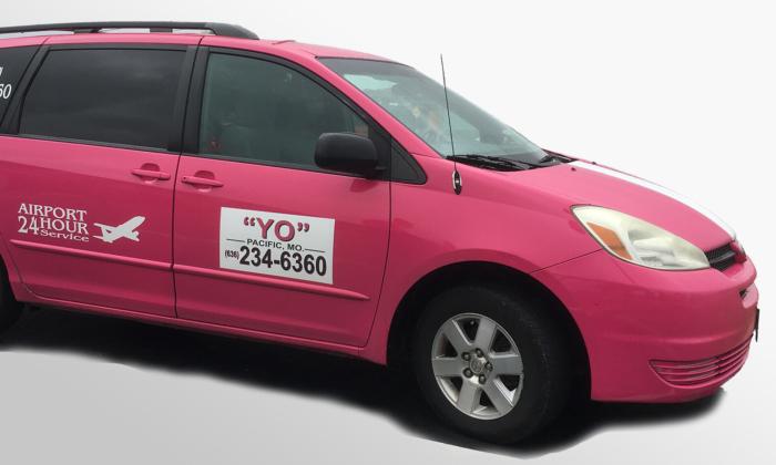 A Yo Transportation van. (Via yo-taxi.com)