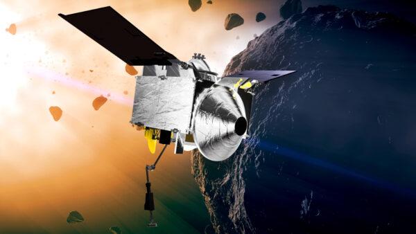 Space Asteroid Grab