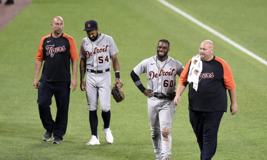 Scary Collision Between Hill, Baddoo Dampens Tigers' Win Over Orioles