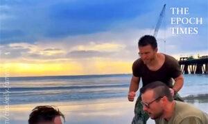 Hilarious Husband Bootcamp at the Beach