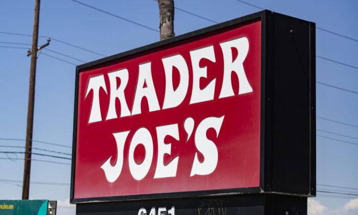 A Trader Joes location in Long Beach, Calif., on July 19, 2021. (John Fredricks/The Epoch Times)