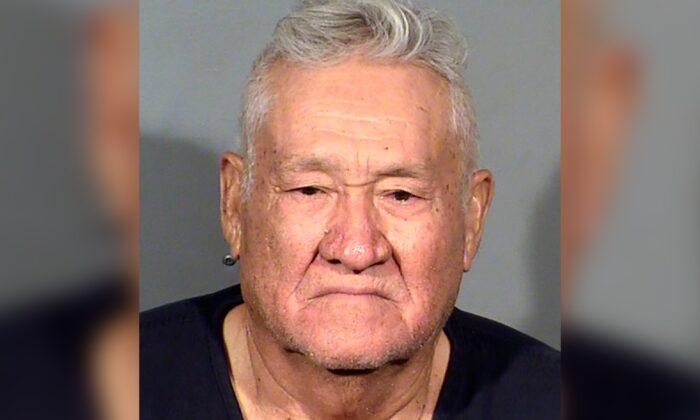 This booking photo shows Arnoldo Lozano-Sanchez following his arrest, in Las Vegas, on Aug. 10, 2021. (Clark County Detention Center via AP)