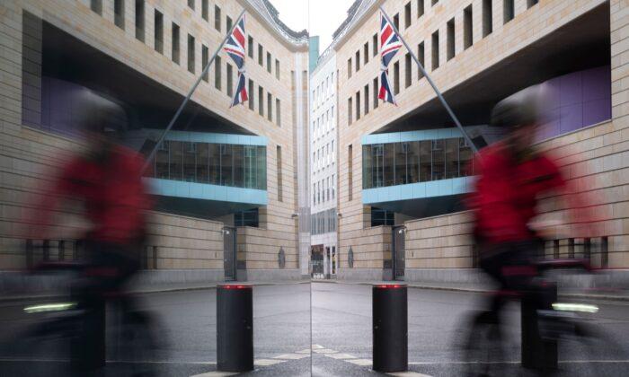 British Embassy in Berlin in a file photo. (Markus Schreiber/AP)