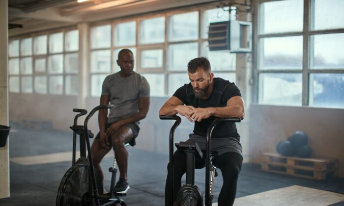 How we think our exercise levels compare to others' may affect our risk of death, beyond our actual level of physical activity. (Flamingo Images/Shutterstock)