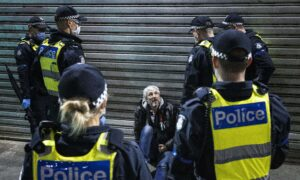 Victoria Police Arrest 73 Protesters in Rally Against Lockdown Extension