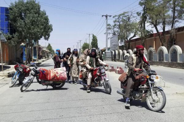 talibans-on-bike