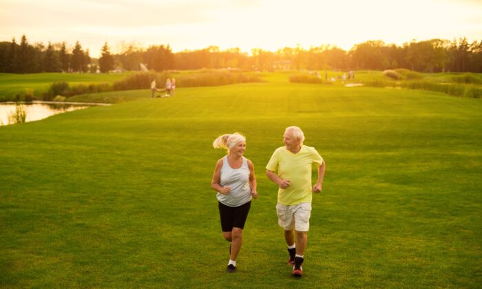 Small bits of exercise and eating slightly fewer calories can help obese seniors make notable improvements in vascular health and weight loss. (DenisProduction.com/Shutterstock)
