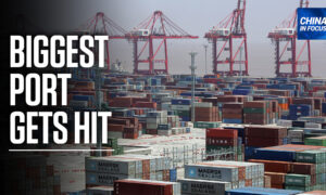 China's Biggest Shipping Port Struck by Virus