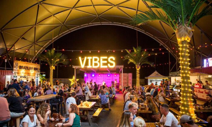 Vibes stage at NightQuarter live music venue at Sunshine Coast, Australia. (NightQuarter)