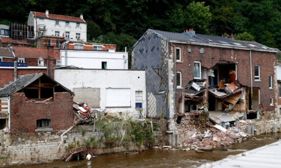 One Month After Floods, Belgians Try to Rebuild