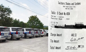 Group of 22 Police Officers Eating at Diner Left Speechless When Good Samaritan Pays Their Bill