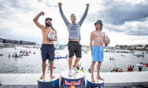 It Was a Romanian Double at the Red Bull Cliff Diving Exhibition in Oslo
