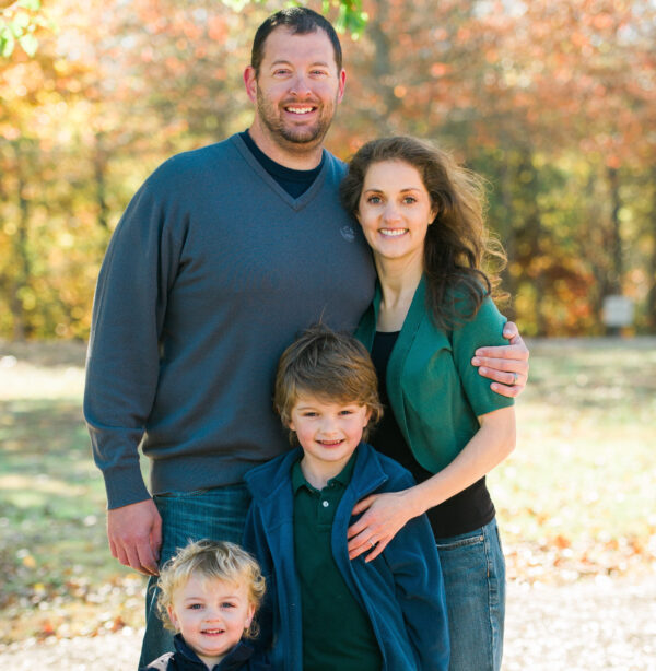 Dr. Sina McCullough and her family. (Courtesy of Dr. Sina McCullough)