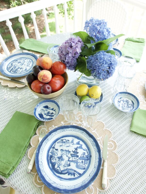 summer market meal table s