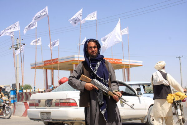 A Taliban terrorist