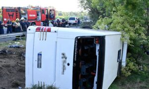 Hungary Bus Crash Kills 8, Injures Dozens