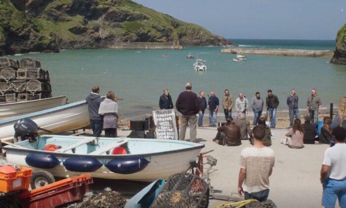 "A scene from ""Fishermen's Friends."" (Entertainment Film Distributors)"