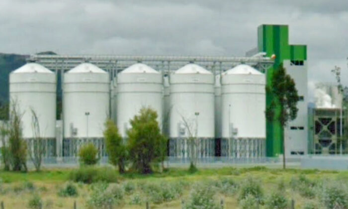 A plant run by Central Cervecera de Colombia, one of the companies owned by the late industrialist Carlos Ardilla Lulle, in Sesquilé, Colombia, in this 2019 file photo. (Google Maps/Screenshot via The Epoch Times)