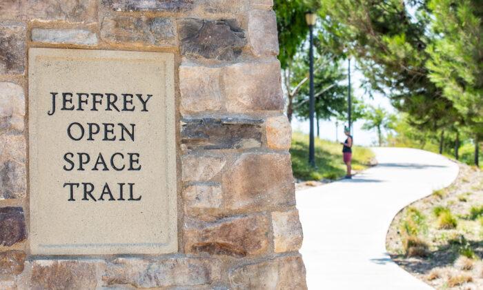 The Jeffrey Open Space Trail in Irvine, Calif., on Aug. 13, 2021. (John Fredricks/The Epoch Times)