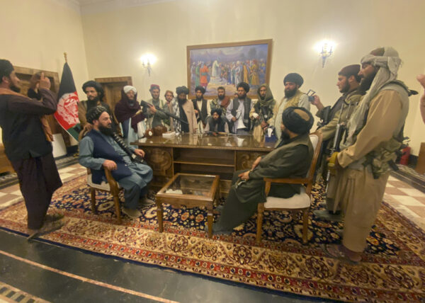 Taliban takes control of Afghan presidential palace