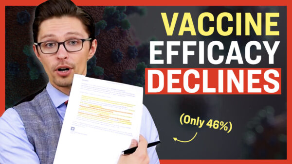 Facts Matter (Aug. 14): Effectiveness of mRNA Vaccines Has Dropped Significantly, as Low as 46 Percent, Study Shows