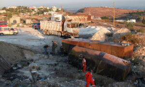 At Least 22 Killed in Lebanon Fuel Tank Explosion: Health Officials