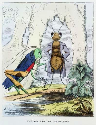 The_Ant_and_the_Grasshopper_by_Charles_H._Bennett
