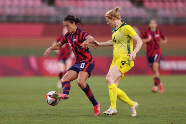 United States v Australia: Bronze Medal Match Women's Football - Olympics: Carli Lloyd