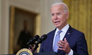 Biden Hasn't Spoken With Any World Leaders on Fall of Afghanistan: White House