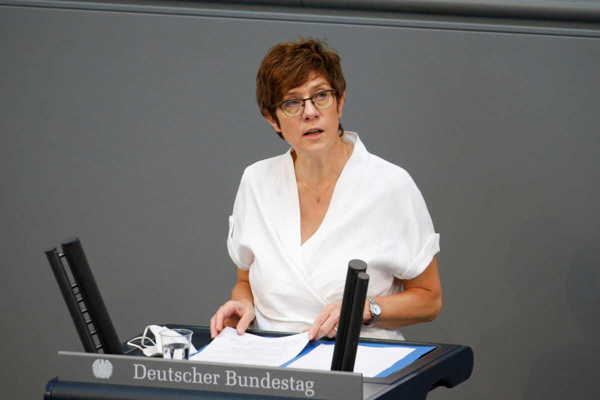 FILE PHOTO: Last session of the lower house of parliament Bundestag before federal elections, in Berlin