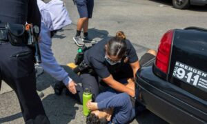 Police Release Description of Stabbing Suspect From Los Angeles Vaccine Mandate Protests