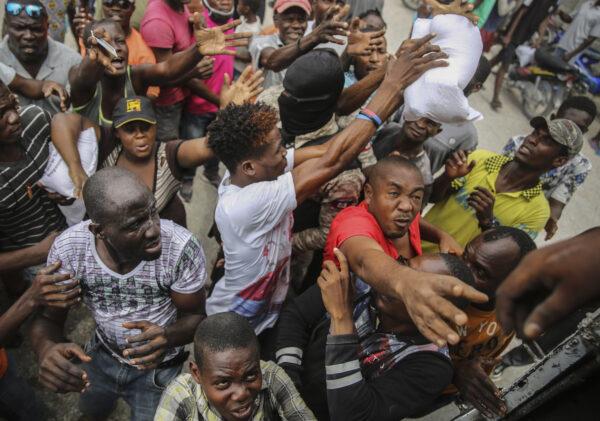 Haiti Earthquake victims