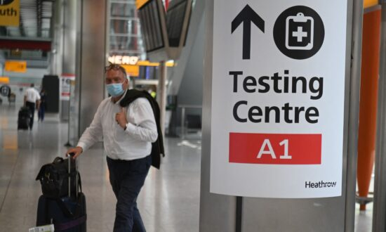 UK Government Warns 80 PCR Travel Test Firms on 'Cowboy' Pricing