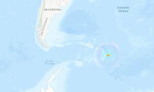 Magnitude 6.9 Earthquake Strikes South Sandwich Islands Region: EMSC