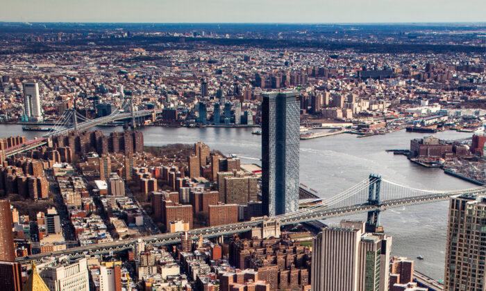 New York City on Dec. 8, 2019. (Petr Svab/The Epoch Times)