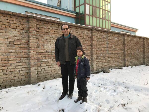 Noman Mujtaba (L) and Bahaudin Mujtaba