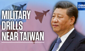 China Holds Military Drills Near Taiwan