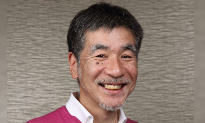 Maki Kaji, chief executive of Nikoli until July 2021, in Tokyo, Japan, in an undated photo. (NIKOLI via AP)